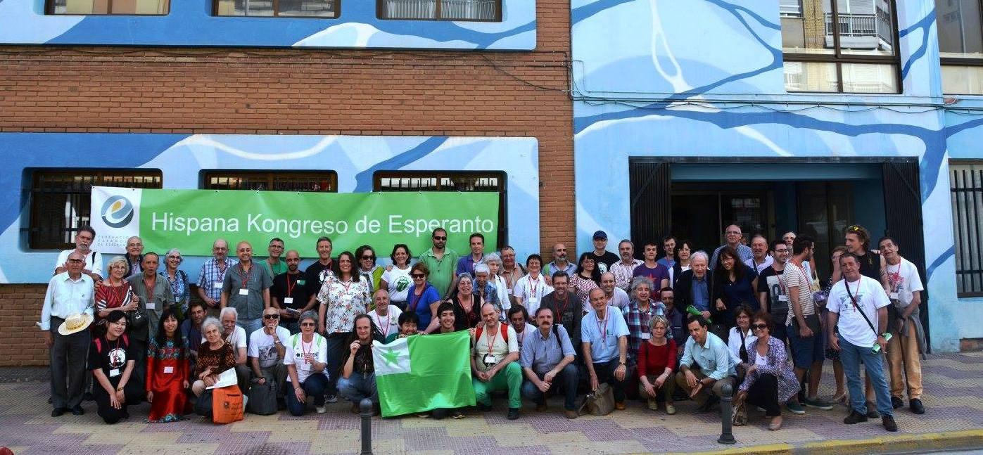 Foto colectiva del  74 Congreso Español de Esperanto